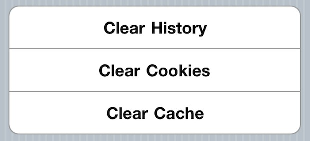 how to clear search history on iphone deleting your cookies cache and browser history in 19925