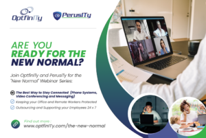 Staying Connected through technology - Video Conferencing - OptfinITy